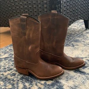 Genuine Leather - Women's Cowboy Boots